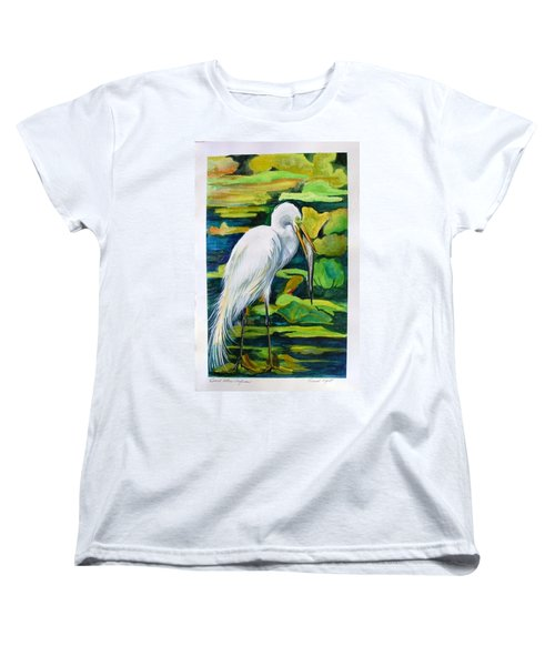 Great Egret Women's T-Shirt (Standard Cut)