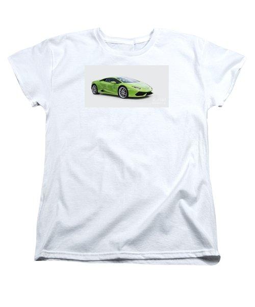 Green Huracan Women's T-Shirt (Standard Cut) by Roger Lighterness