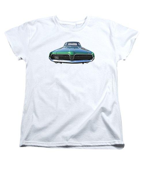 Green With Envy - 68 Mercury Women's T-Shirt (Standard Cut)