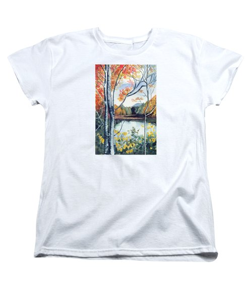 Greenbriar River, Wv 2 Women's T-Shirt (Standard Cut) by Katherine Miller