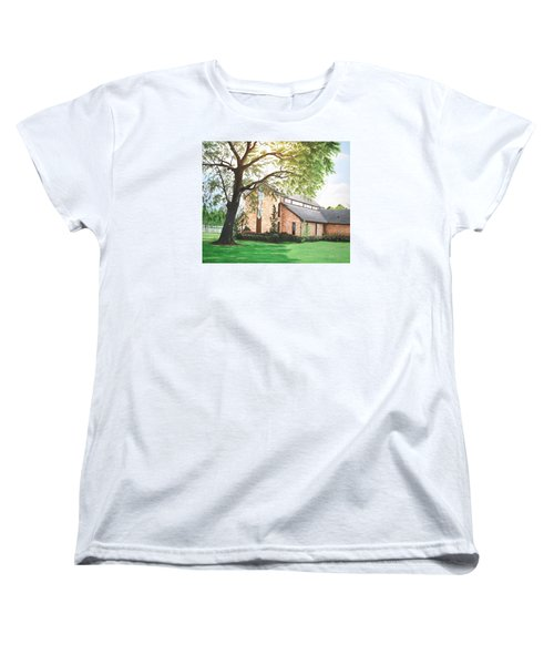 Greenwood Women's T-Shirt (Standard Cut) by Mike Ivey