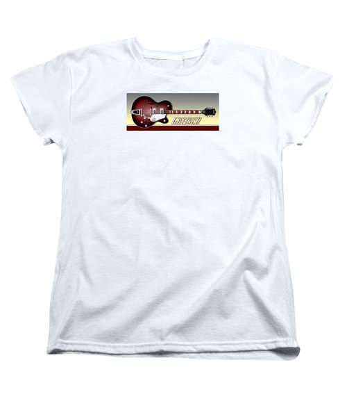 Gretsch Guitar Women's T-Shirt (Standard Cut) by Anthony Citro