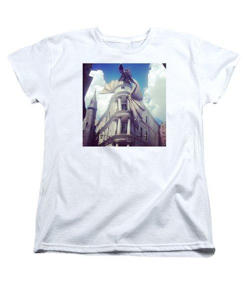 Gringotts  Women's T-Shirt (Standard Cut) by Kate Arsenault