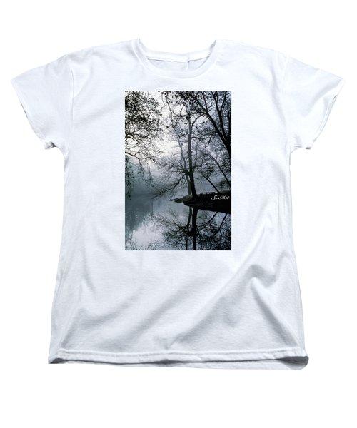Grings Mill Fog 1043 Women's T-Shirt (Standard Cut) by Scott McAllister
