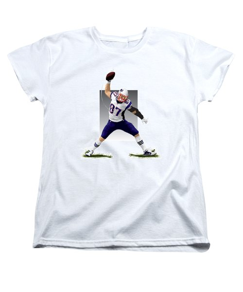 Gronk Women's T-Shirt (Standard Cut) by Scott Weigner