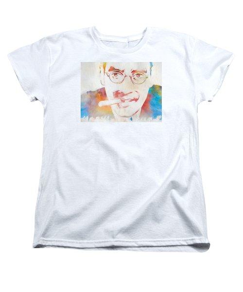 Groucho Marx Women's T-Shirt (Standard Cut) by Dan Sproul