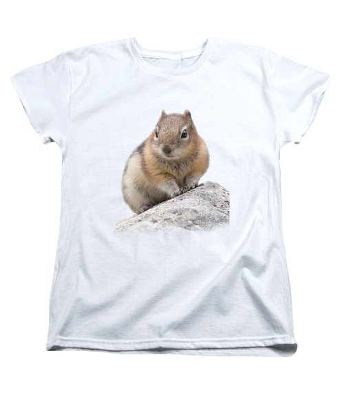 Ground Squirrel T-shirt Women's T-Shirt (Standard Cut) by Tony Mills