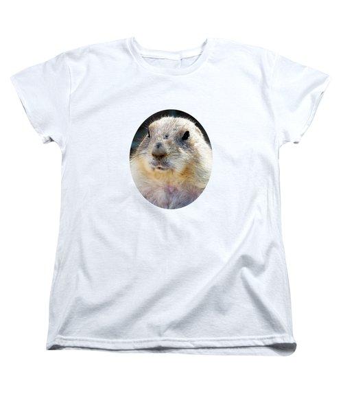 Ground Squirrel Portrait Women's T-Shirt (Standard Cut)