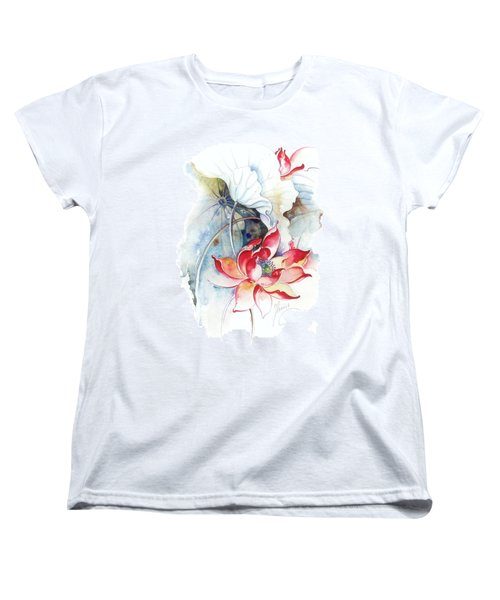 Guarding The Secret Passage Women's T-Shirt (Standard Cut) by Anna Ewa Miarczynska