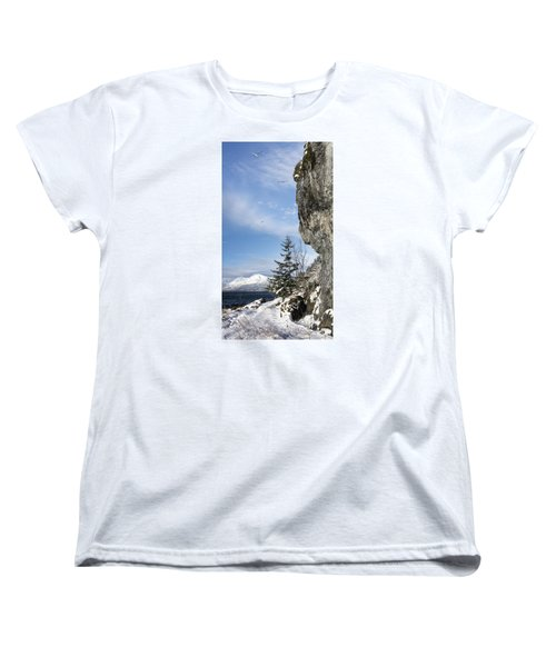 Gulls Of Winter Women's T-Shirt (Standard Cut) by Michele Cornelius
