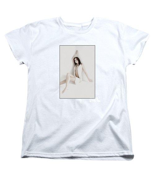 Half Naked Woman Is Studio Women's T-Shirt (Standard Cut) by Michael Edwards
