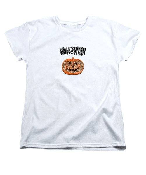 Halloween Pumpkin Women's T-Shirt (Standard Cut)