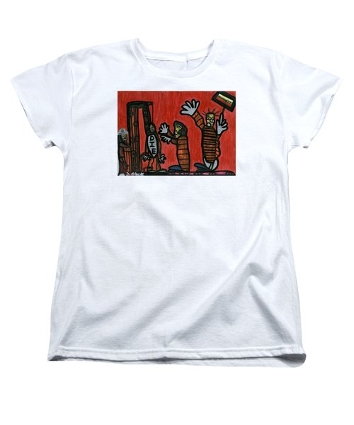 Halt The Execution Women's T-Shirt (Standard Cut) by Darrell Black