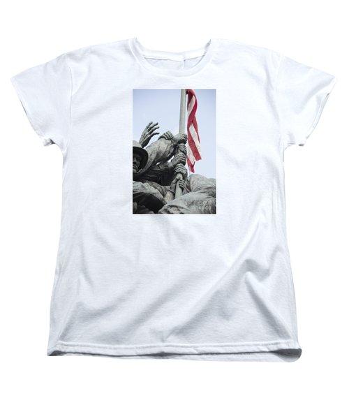Hands Of Suribachi Women's T-Shirt (Standard Cut) by David Bearden