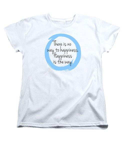 Happiness Women's T-Shirt (Standard Cut) by Julie Niemela
