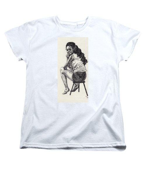 Happy Greeting Women's T-Shirt (Standard Cut)