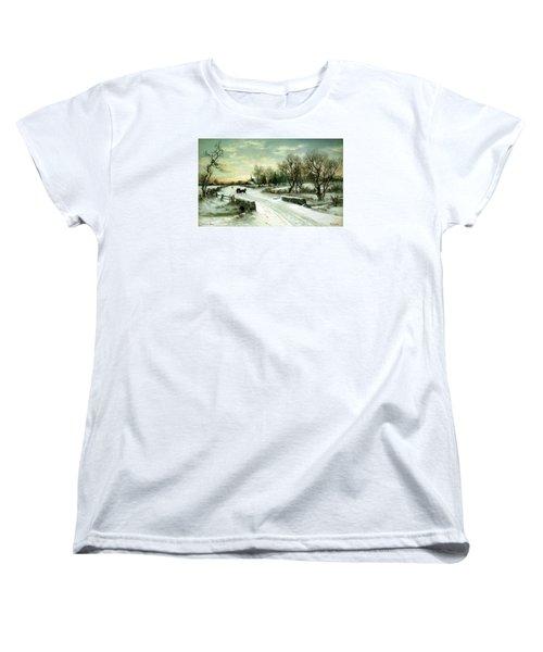 Happy Holidays Women's T-Shirt (Standard Cut) by Travel Pics