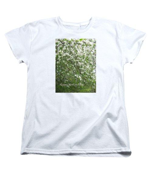 Happy Mothers Day Women's T-Shirt (Standard Cut) by Deborah Dendler
