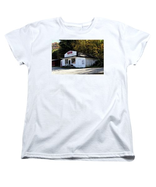 Happy Motoring Women's T-Shirt (Standard Cut) by Dale R Carlson