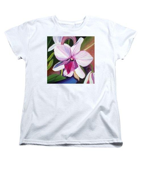 Happy Orchid Women's T-Shirt (Standard Cut)