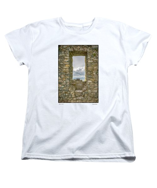 Harlech Cloud Women's T-Shirt (Standard Cut) by R Thomas Berner