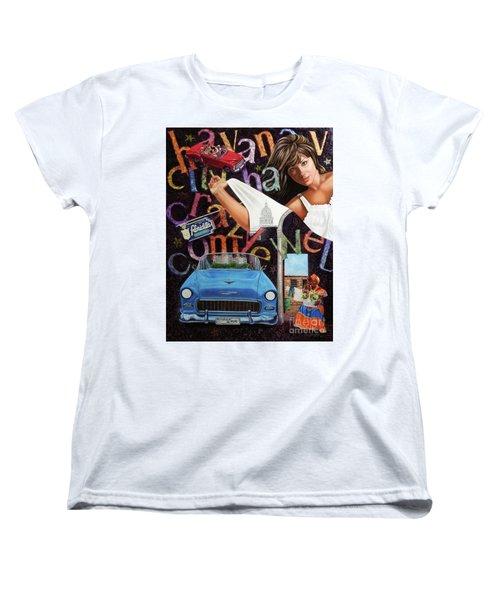 Havana City Women's T-Shirt (Standard Cut) by Jorge L Martinez Camilleri