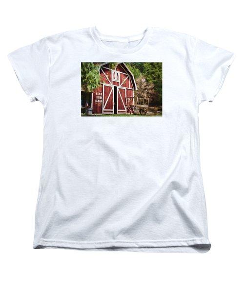Hay Fer Sale Women's T-Shirt (Standard Cut) by Lana Trussell