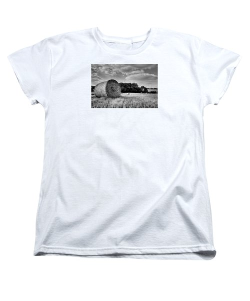 Hay Race Track Women's T-Shirt (Standard Cut) by Jeremy Lavender Photography