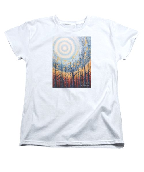 He Lights The Way In The Darkness Women's T-Shirt (Standard Cut)