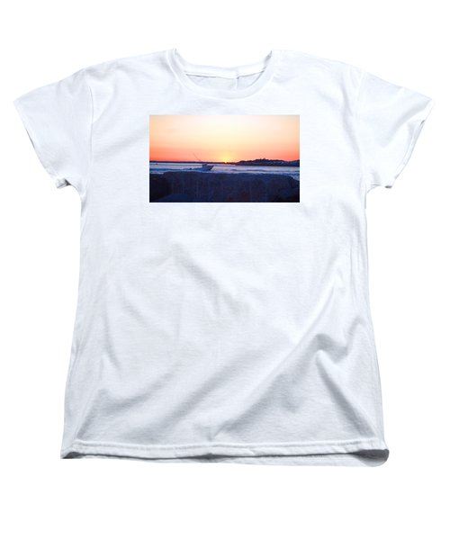 Women's T-Shirt (Standard Cut) featuring the photograph Heading Out by  Newwwman