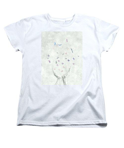 Heal Women's T-Shirt (Standard Cut) by Jacky Gerritsen