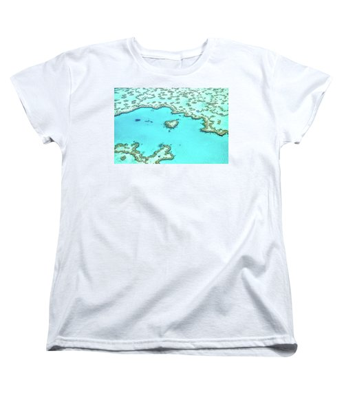 Women's T-Shirt (Standard Cut) featuring the photograph Heart Of The Reef by Az Jackson