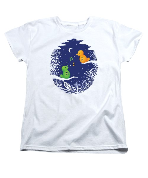Heart Song Women's T-Shirt (Standard Cut) by Ben Hartnett