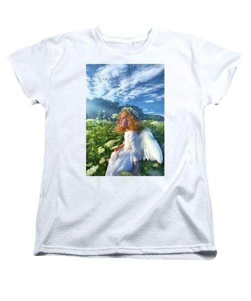 Women's T-Shirt (Standard Cut) featuring the photograph Heaven Sent by Phil Koch