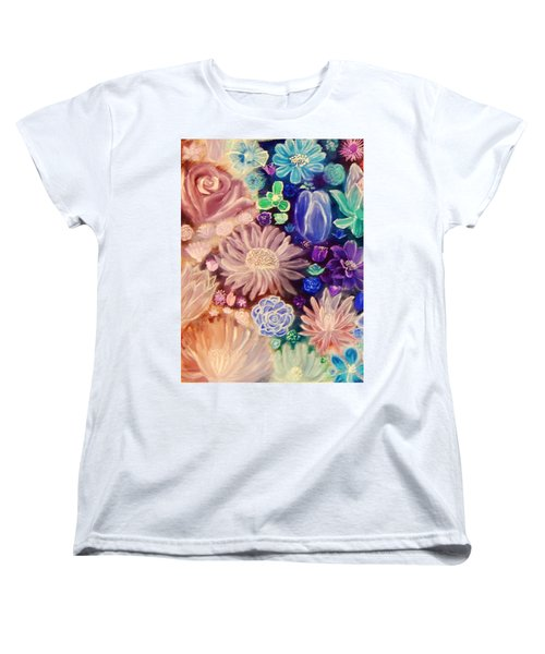 Heavenly Garden Women's T-Shirt (Standard Cut) by Samantha Thome