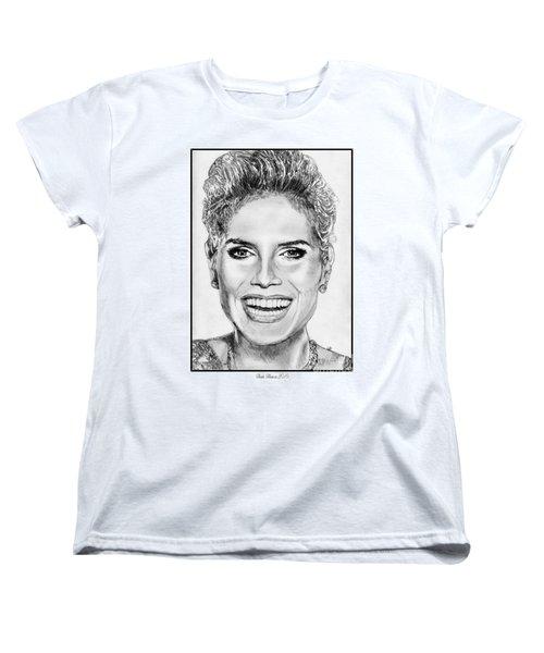 Heidi Klum In 2010 Women's T-Shirt (Standard Cut) by J McCombie