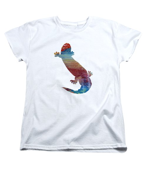 Hellbender Salamander Women's T-Shirt (Standard Cut) by Mordax Furittus