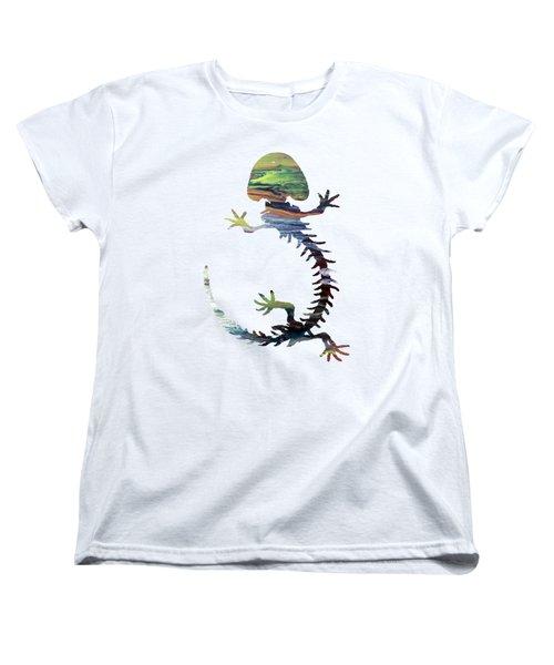 Hellbender Skeleton Women's T-Shirt (Standard Cut)