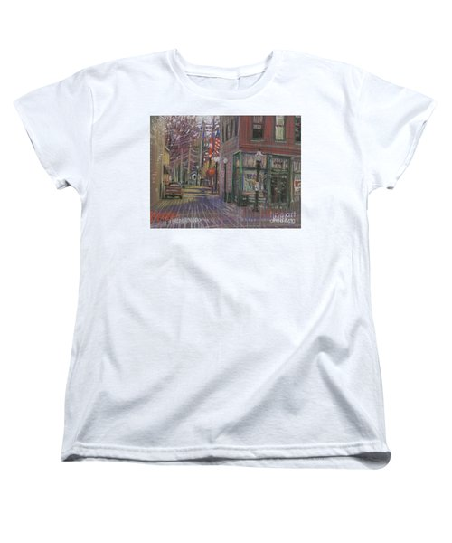 Women's T-Shirt (Standard Cut) featuring the painting Henry's by Donald Maier