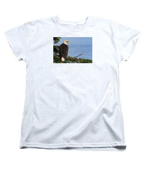 Women's T-Shirt (Standard Cut) featuring the photograph Hey by Gary Lengyel
