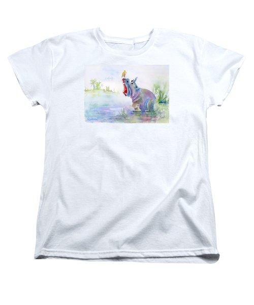 Hey Whats The Big Idea Women's T-Shirt (Standard Cut) by Amy Kirkpatrick