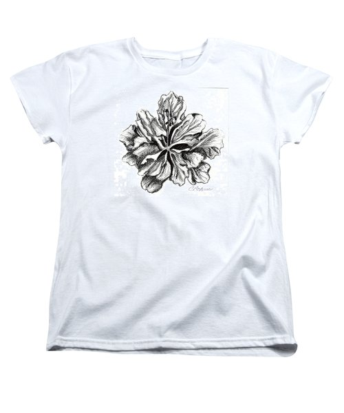 Hibiscus Bloom Women's T-Shirt (Standard Cut)