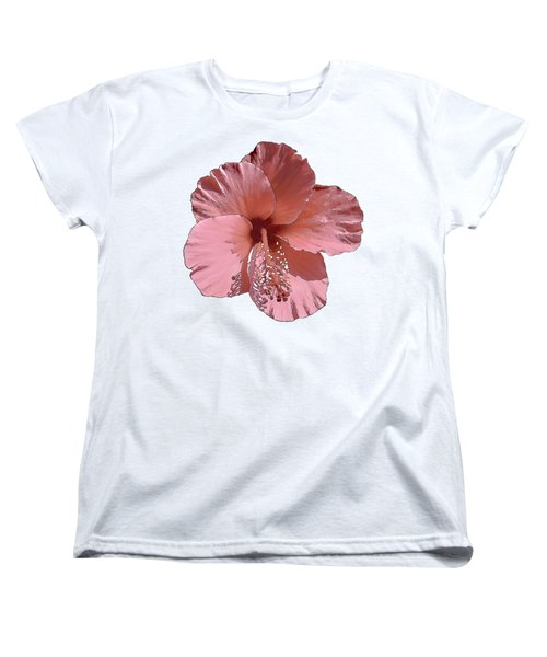 Hibiscus  Flower  Women's T-Shirt (Standard Cut)