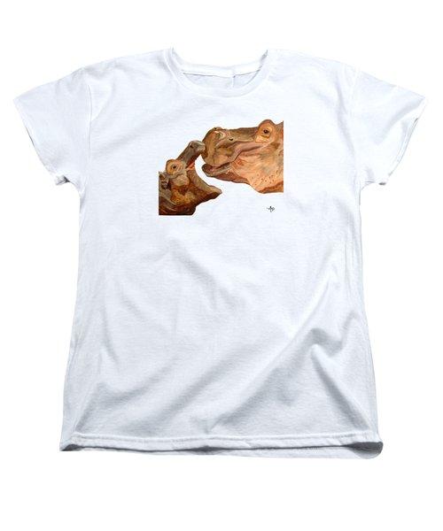 Hippos Women's T-Shirt (Standard Cut)
