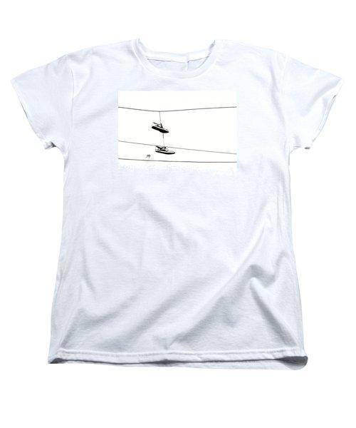 Women's T-Shirt (Standard Cut) featuring the photograph His by Linda Hollis
