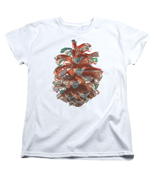 Holiday Red Cone Women's T-Shirt (Standard Cut)