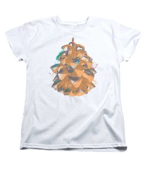 Holiday Yellow Cone Women's T-Shirt (Standard Cut) by Stan  Magnan