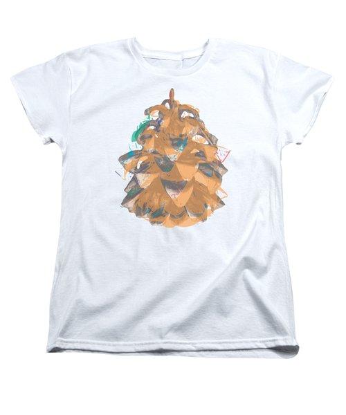Holiday Yellow Cone Women's T-Shirt (Standard Cut)