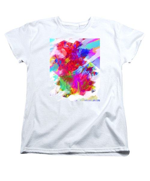Women's T-Shirt (Standard Cut) featuring the digital art Holy Town by AC Williams