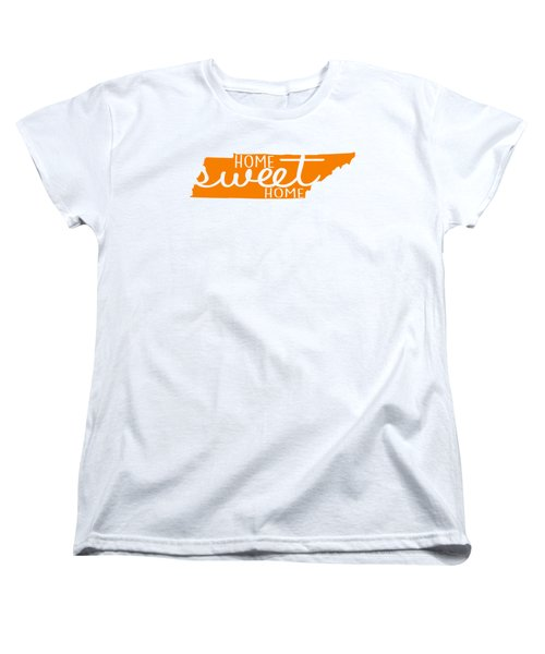 Home Sweet Home Tennessee Women's T-Shirt (Standard Cut) by Heather Applegate